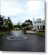 Pond At Alys Beach Metal Print