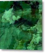 Pond Life Abstract Metal Print