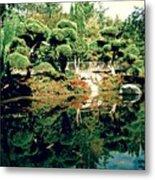 Pond Of Mirrors Metal Print