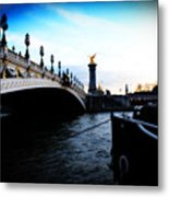 Pont Alexandre Metal Print by Cabral Stock
