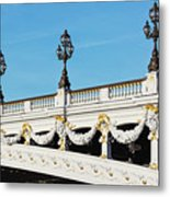 Pont Alexandre IIi - Paris, France Metal Print