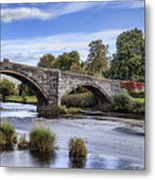 Pont Fawr Metal Print