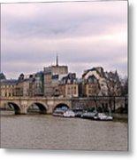 Pont Neuf In Paris Metal Print