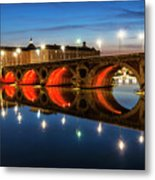 Pont Neuf In Toulouse Metal Print