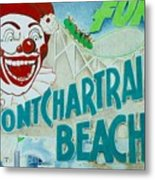 Pontchartrain Beach Metal Print