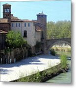 Ponte Cestio Metal Print