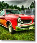Pontiac Gto 029 Metal Print
