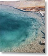 Pool's Edge One Metal Print