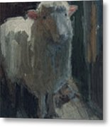 Poor Lamb Metal Print