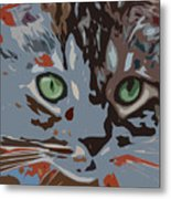Purrfection Metal Print