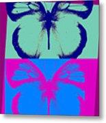 Pop Art Morphosis Metal Print