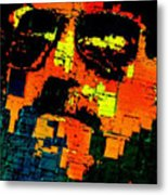 Pop Art Selfie  Metal Print