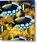 Pop Fish Metal Print