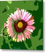 Pop Flower Work Number 23 Metal Print