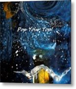 Pop Your Top By Lisa Kaiser Metal Print
