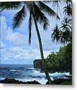 Poponi Ulaino Mokupupu Maui North Shore Hawaii Metal Print