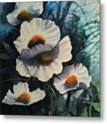 Poppies Metal Print by Robert Carver