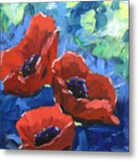 Poppies Splender Metal Print