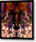 Popping Flowers Metal Print