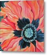 Poppy For A New Day Metal Print