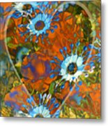 Poppy Love Metal Print