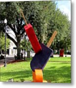 Popsicles In The Park 000 Metal Print