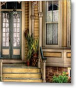 Porch - House 109 Metal Print by Mike Savad