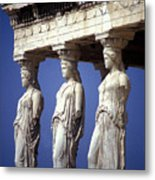 Porch Of The Maidens Metal Print