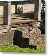 Porch Stoop Metal Print