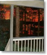 Porchlight Metal Print