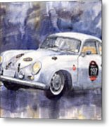 Porsche 356 Coupe Metal Print