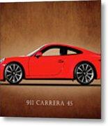 Porsche 911 Carrera 4S Metal Print