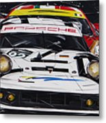 Porsche 911 Rsr Le Mans Metal Print