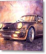 Porsche 911 Turbo 1979 Metal Print