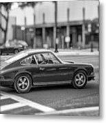 Porsche 911e Metal Print
