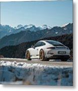 Porsche 911r Metal Print