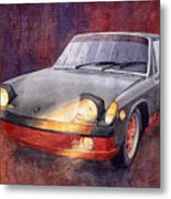 1970 Porsche 914 Metal Print