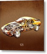 Porsche 928 1980 Metal Print