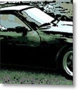 Porsche 944 On A Hot Afternoon Metal Print