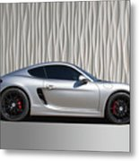 Porsche Beautiful Dream Sports Car Metal Print