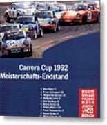 Porsche Carrera Cup 1992 Metal Print