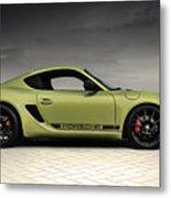 Porsche Cayman R Metal Print