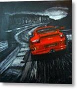 Porsche Gt3 Le Mans Metal Print