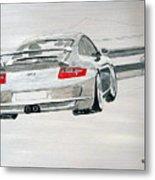 Porsche Gt3 Metal Print