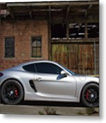 Porsche Need For Speed Metal Print