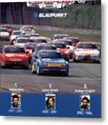 Porsche Turbo Cup 1988 Metal Print