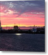 Port Angeles Harbor Thirteen Metal Print