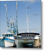 Port Canaveral On The East Coast Of Florida Metal Print
