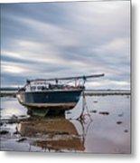 Port Carlisle Boat Metal Print