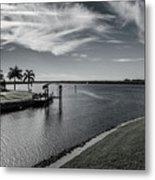 Port Charlotte Bay Harbor Waterway From Ohara Metal Print